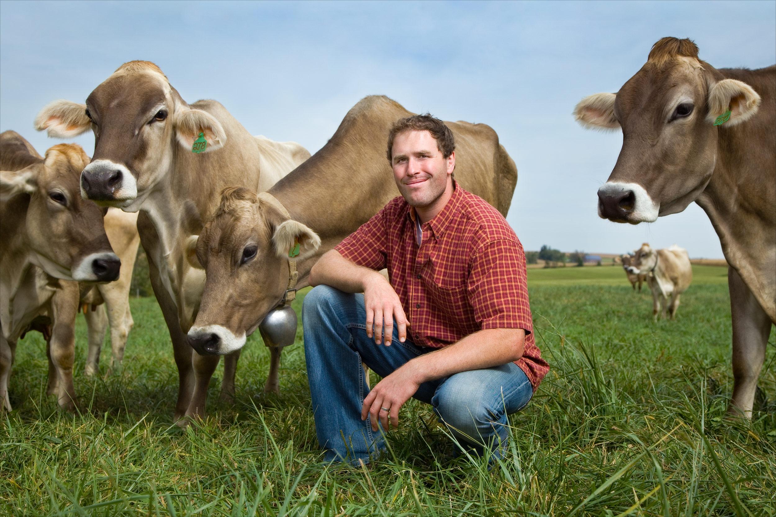 Dan Wegmueller, dairy farmer