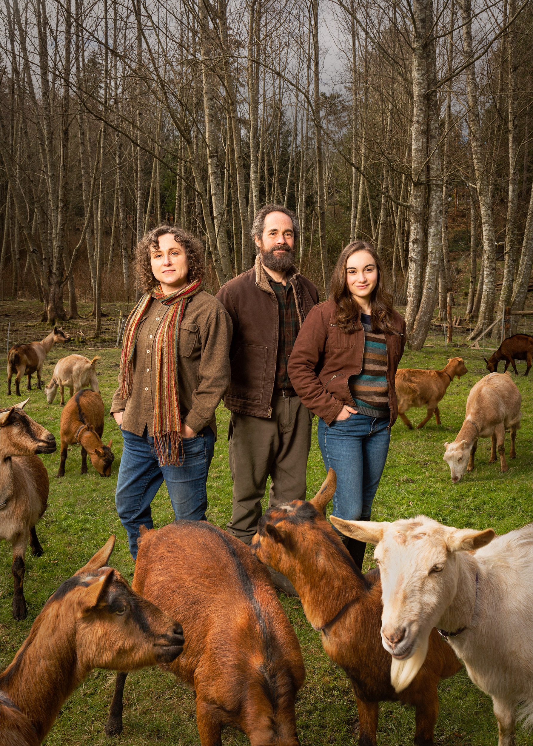 The family behind Chimacum Valley Dairy