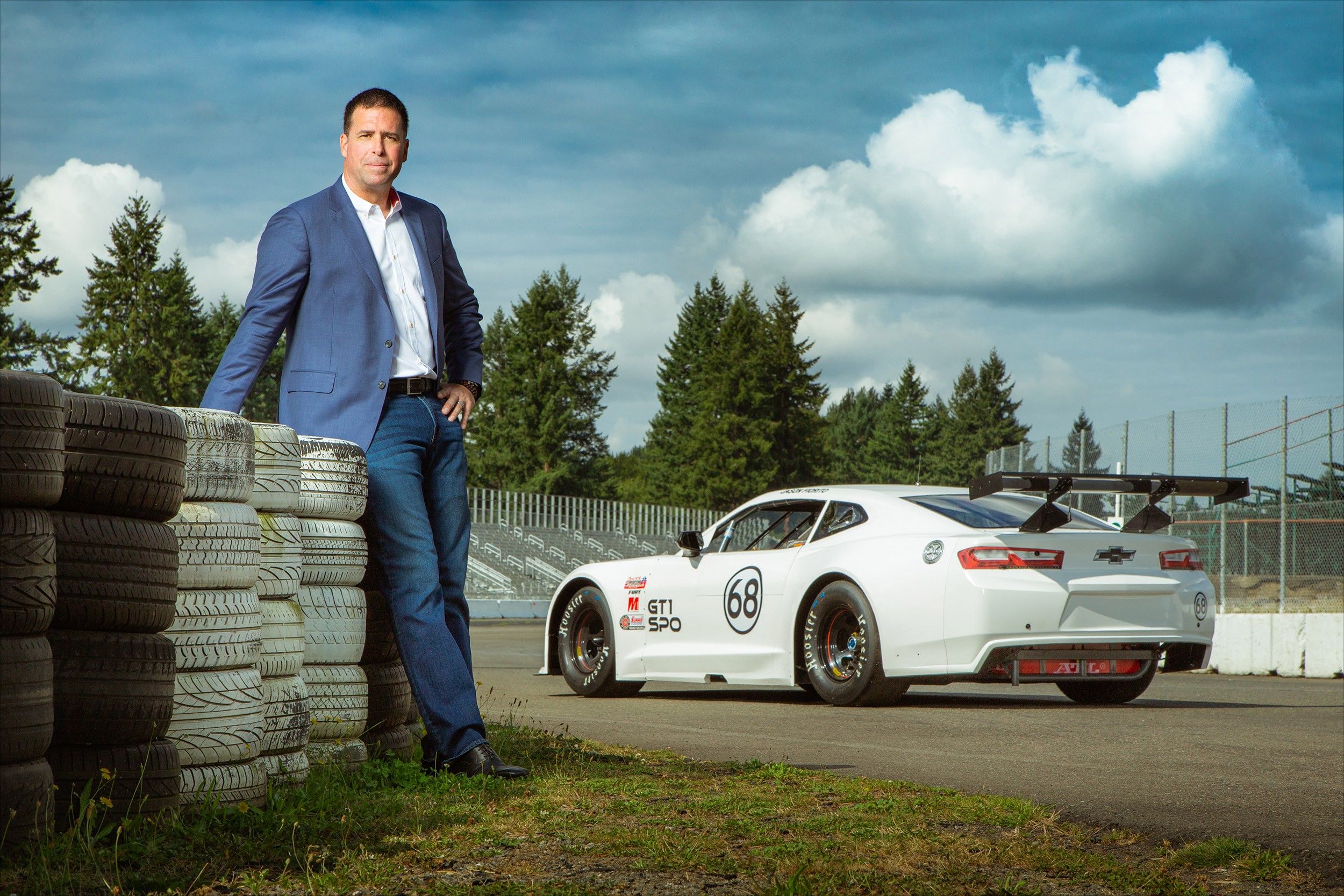 Jason Fiorito, owner of Pacific Raceways