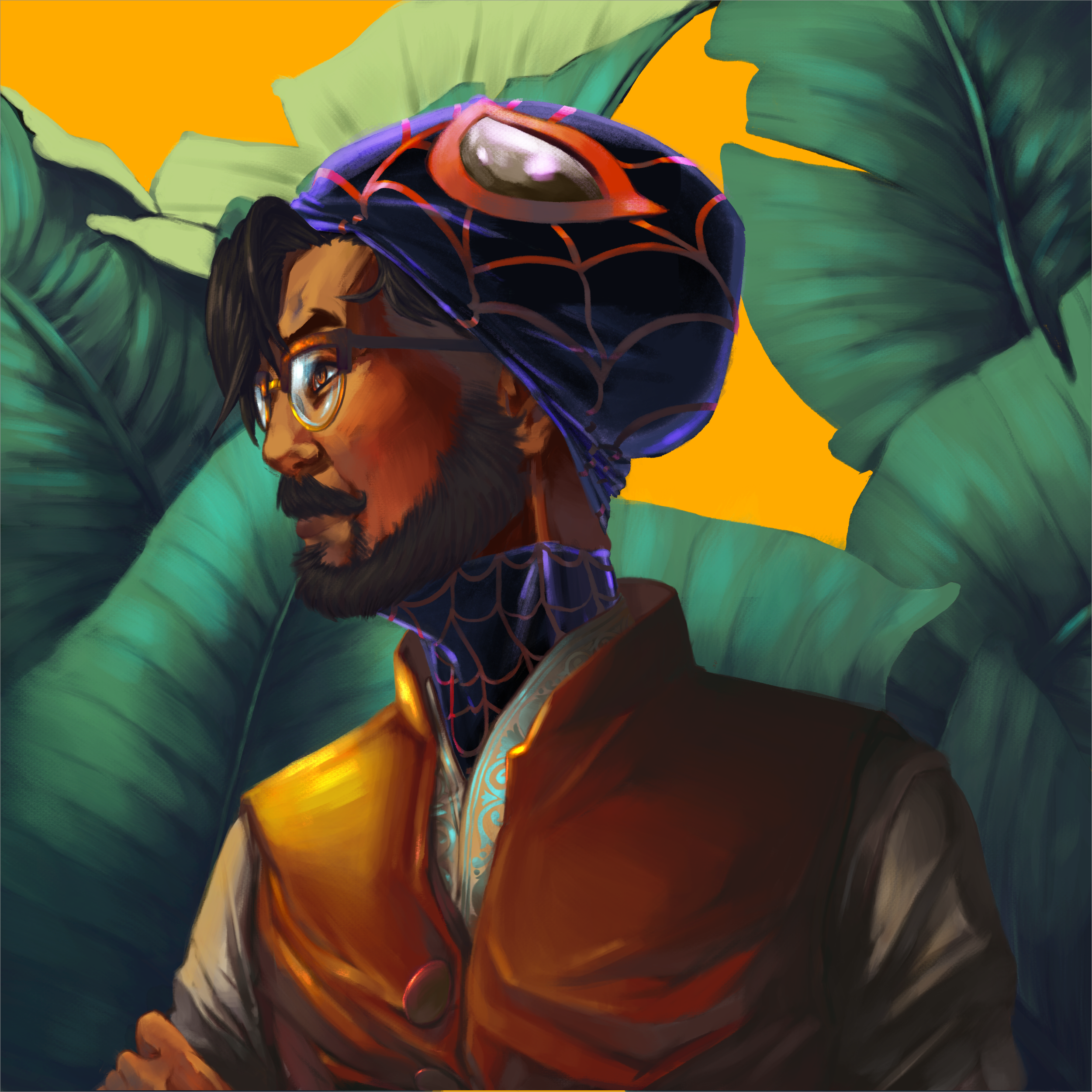 Character Bio - Name: Rohan AdelCountry: Canada, Oakville, ONHeight: Prefers not to disclose… tall in his own right..About:Rohan Adel is an Illustrator and Concept Artist who believes concept, narrative and character drives projects forward to the next level. Rohan graduated from the Ontario College of Art and Design University (OCAD U) in 2018 and holds a Bachelors in Design (BDes). In his free time he'll be reading manga; analyzing movies, anime, or TV; exploring video games and interacting with pop culture through art to hone and sharpen his skills!Special Abilities:PhotoshopIllustratorAfter EffectsInDesignSkills:Concept ArtCharacter and Environment DesignMatte PaintingColour GradingAnimationIllustrationTraditional ArtDigital ArtAchievements and Awards: American Illustration 38 - The Archive 2018 Special Moves:YOU! What are your needs? What do you need for your project? Lets makes something special together! (Hold both Shoulder Buttons to trigger Special)Work Ethic: I pride myself in my work ethic, and will work hard to research, draft, and execute the project based on your needs and requirements, whether that be for a show, movie, game, or various other media! (Left, Right, Left, Up, Down, Hold Every Button Together)You can contact Rohan with any inquiries through his form page or at: adelrohan@gmail.com