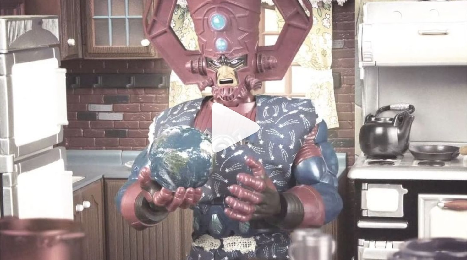 """""""COOKING W/ GALACTUS""""GALACTUS VOICE ACTING - This video was my introduction to doing work for Marvel Entertainment, on that fateful Earth Day in 2018. Galactus is my Michael Jordan, so this was like a dream come true for inner comic book nerd Jesse. I'm not going to say that it was easy to channel the might of Galactus, but it certainly came naturally. Ladies and germs, my spirit animal, Galactus."""