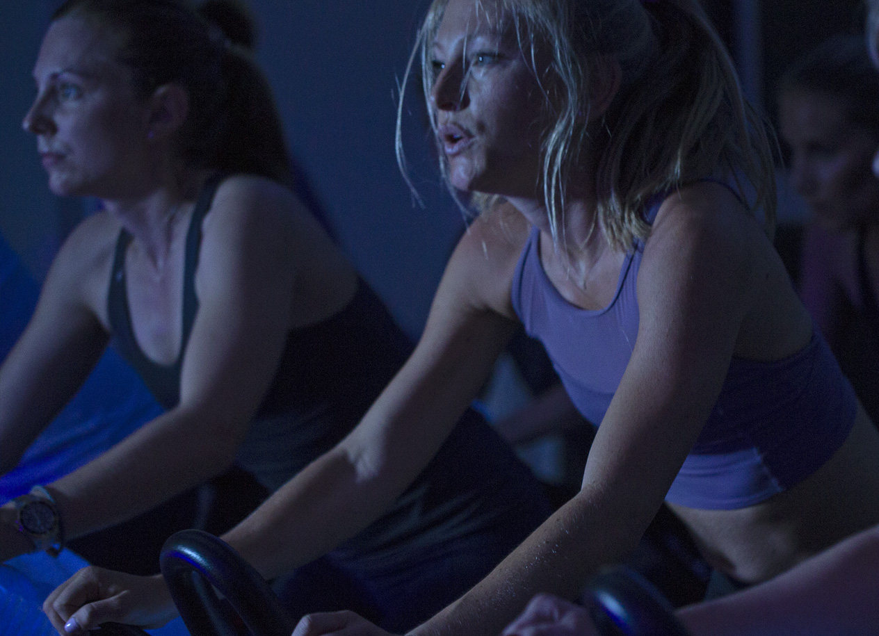 CYCLE - Our Cycle classes are different than a traditional spinning class - along with a strong focus on athletic performance, we ride as a pack to the rythm of the music. Powerful 45 minutes that combines high intensity cardio, strength training and rhythm-based choreography. It's all about the experience rather than the workout - riding together to the beat and letting yourself go!