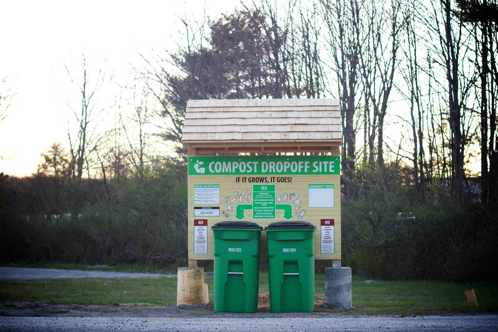 Garbage to Garden in Portland, Maine: Community Compost Drop Site!