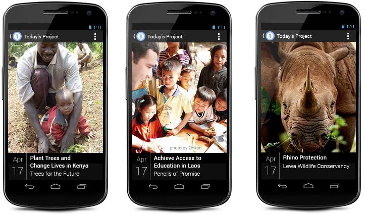Screenshots of Google One on a mobile device