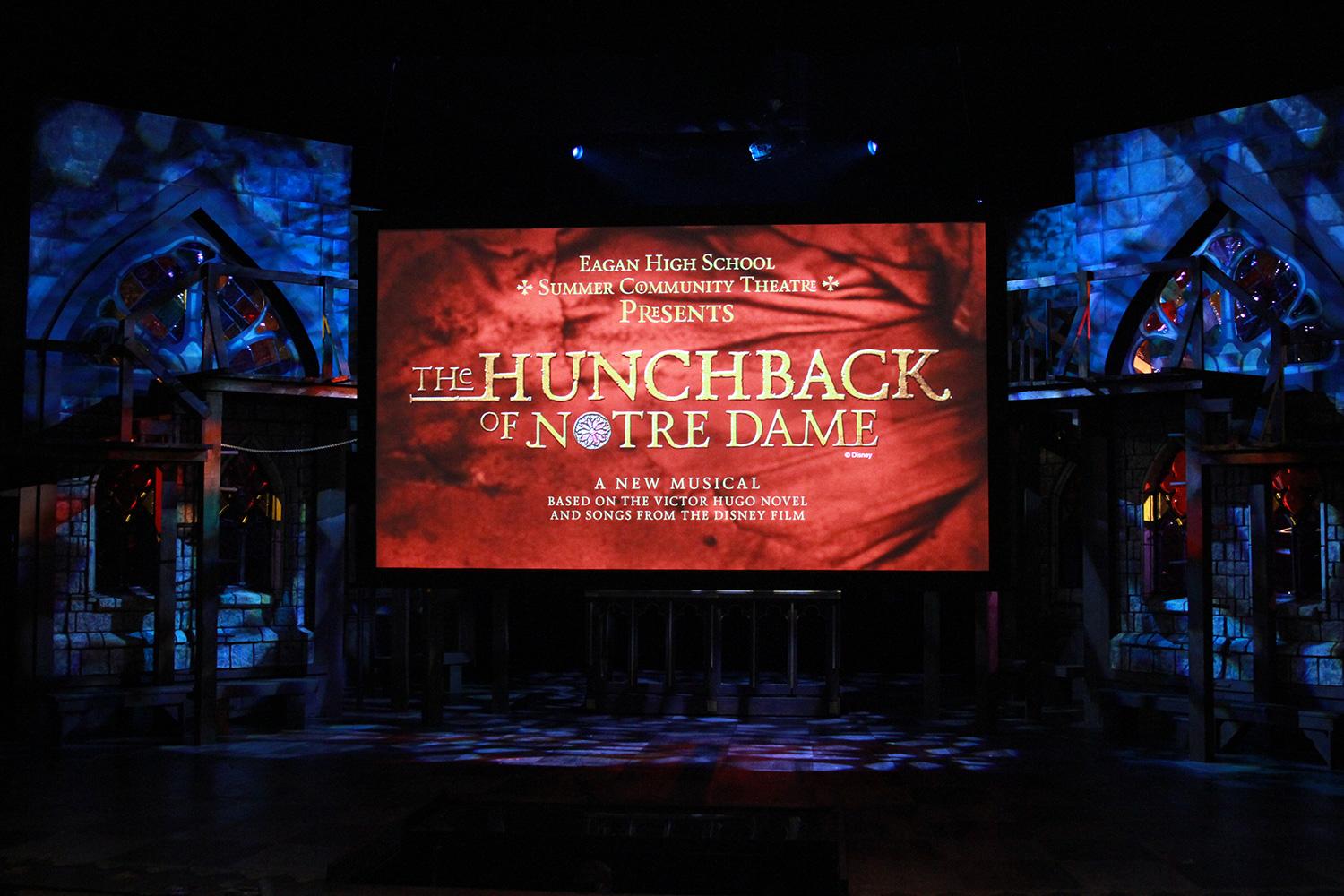 Copy of Hunchback - Pre-show standby