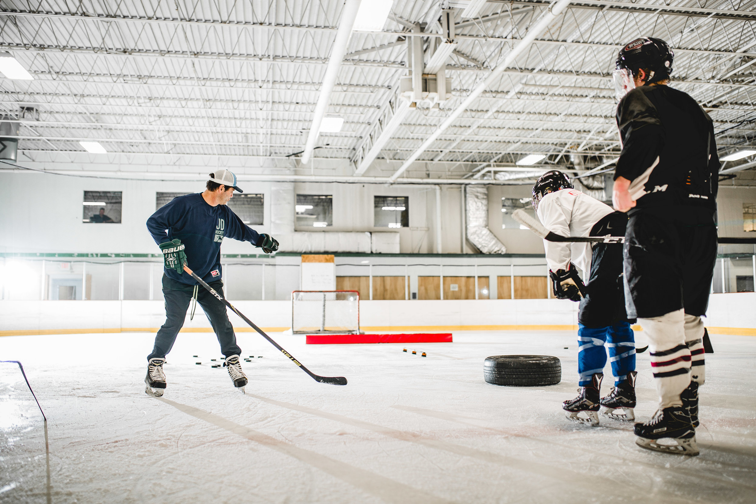 JD HOCKEY Hockey Skills Camps