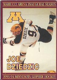 Joe Dziedzic University of Minnesota Hockey