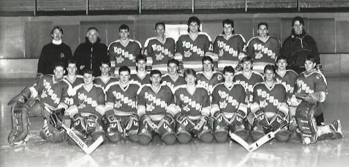 Joe Dziedzic Edison High School Hockey