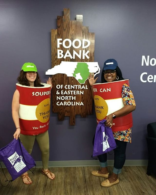 We are souper grateful to have such a great partner in @foodbankcenc ! Tagged along with Pam Foust, Senior Outreach Coordinator to show some partner agency appreciation!