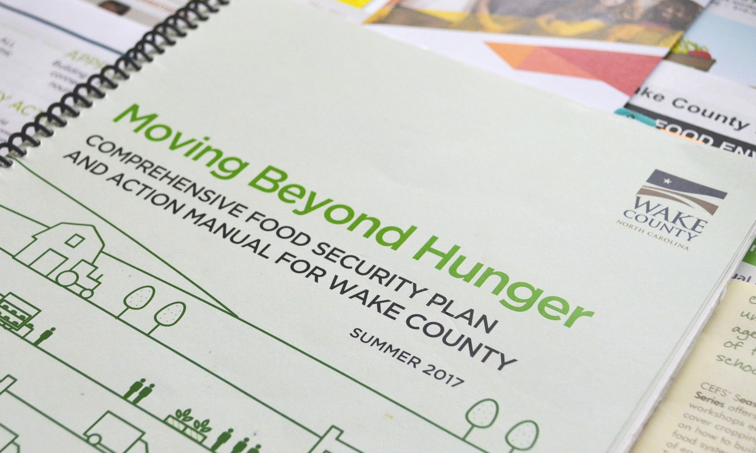 economic development - Researching, coordinating, and leading projects together with local partners to foster equitable economic development in Wake County's food system