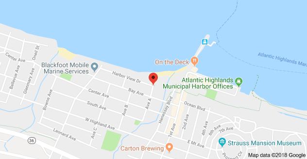 on beach near 5 Avenue A, Atlantic Highlands, NJ 07716