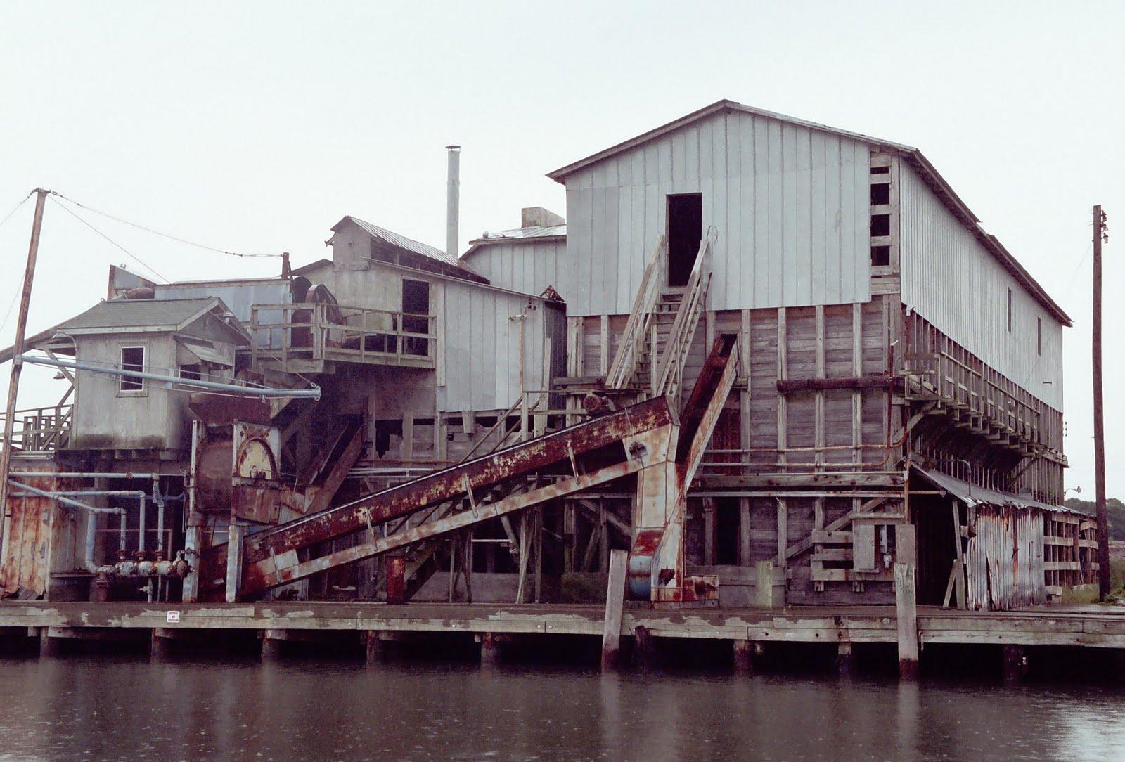Former Menhaden Factory,  Beaufort NC