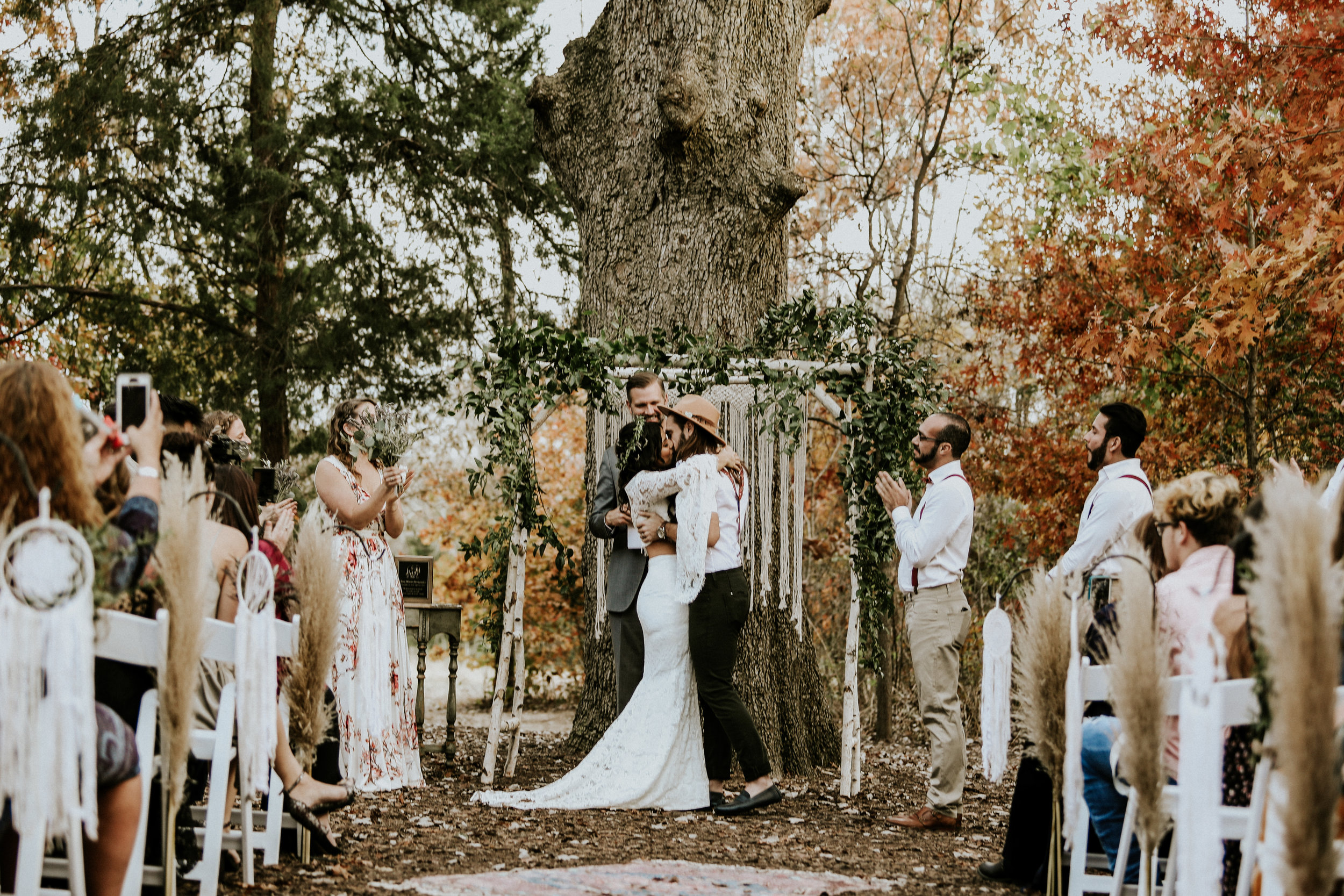 Boho Texas Wedding Photography | Bohemian Wedding Photography