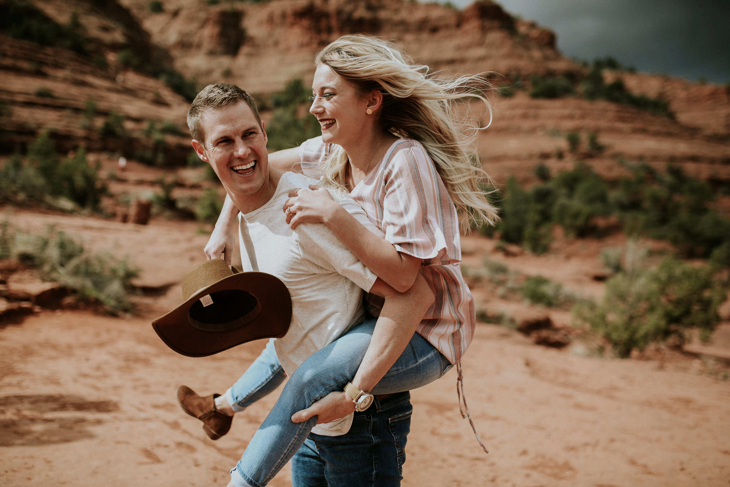 Arizona Adventure Engagement Photographer
