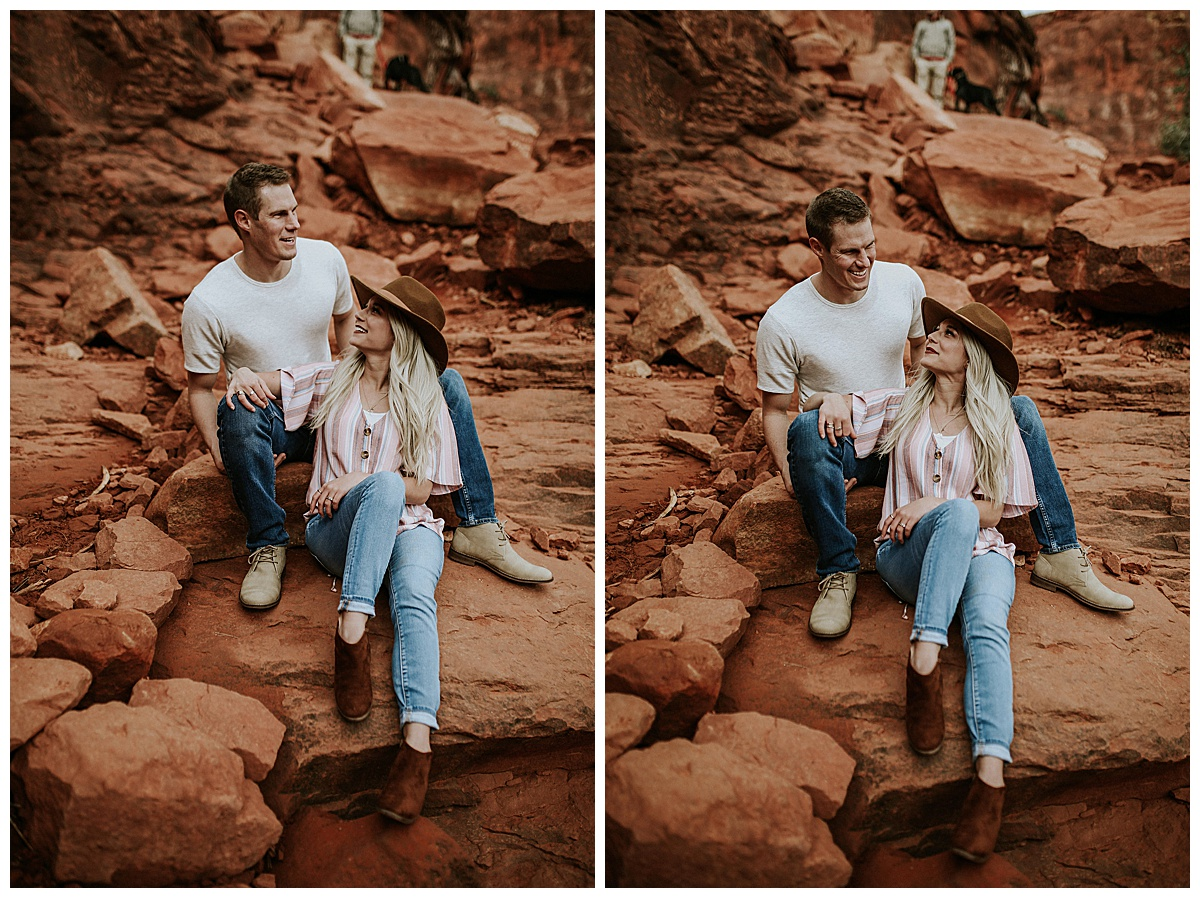 Sedona Couple Photoshoot