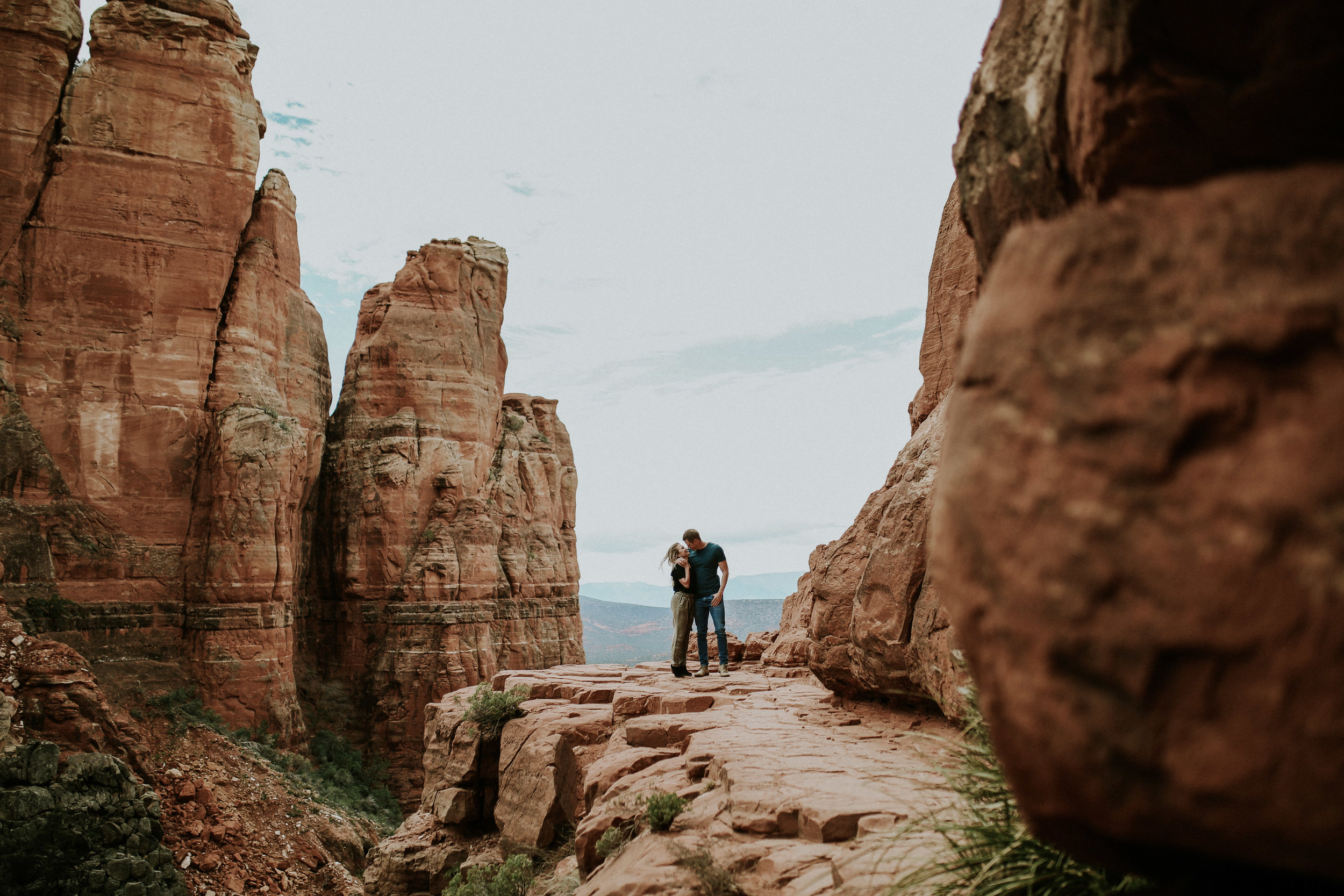 Cathedral Rock Engagement Photographer