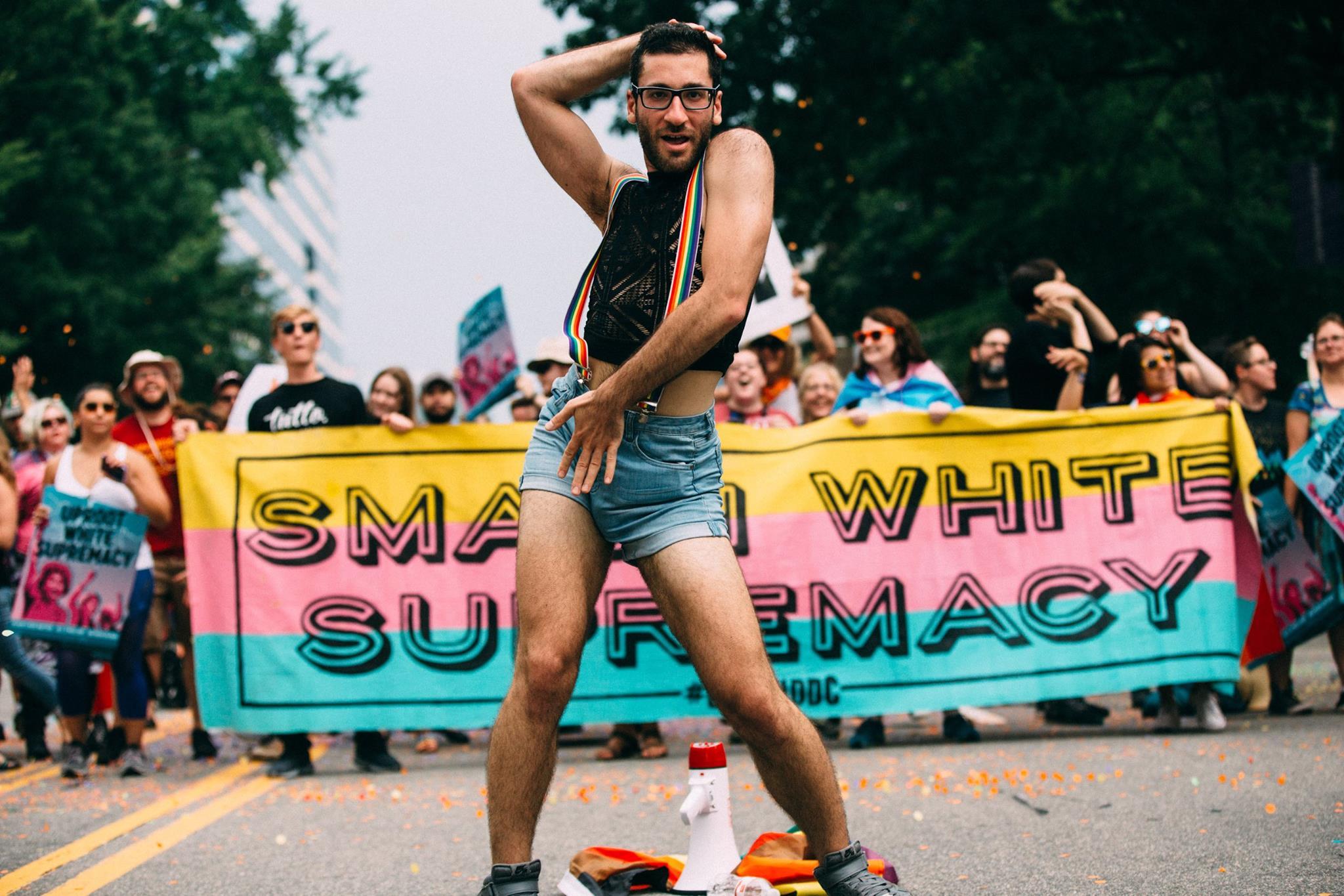 PC: Aaron Hedquist  Sashay Away White Supremacy Dance Protest.