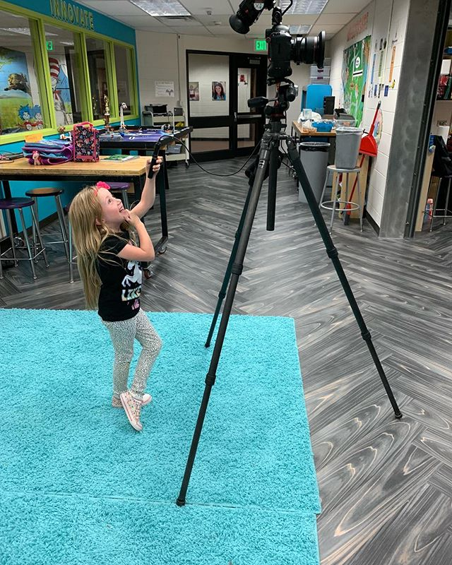 "I have photographed a lot of schools this year, coincidentally I saved the best for last! Zoe ""watched"" daddy in action as I photographed a couple of compositions at her elementary school and then quickly took over - I may have some future competition with this one! . . . #architecturalphotography #indianridgeelementaryschool #likeaboss @cuninghamgroup"