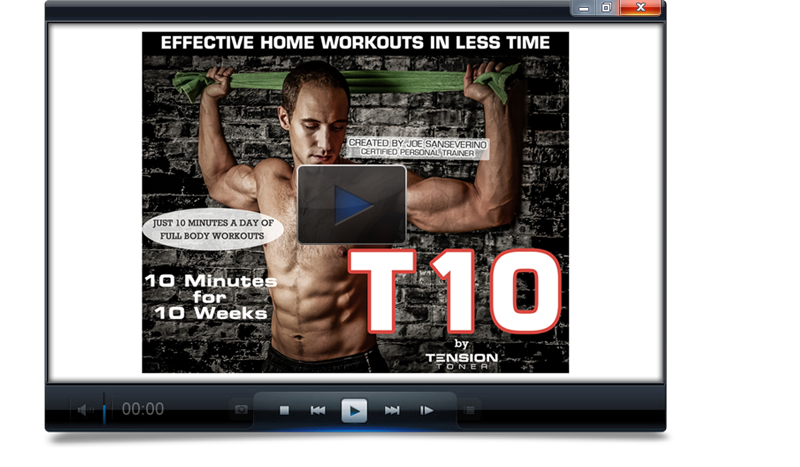Welcome to the T10 Workout Program - • 10 Minutes a day for 10 Weeks• Scroll Below to access Strength, Abs, and Cardio Videos• Remember to download your workout calendar.