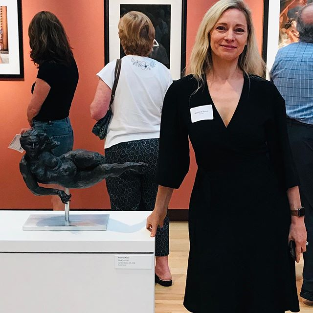 New Britain Museum of American Art is a beautiful museum in Connecticut. I am absolutely thrilled to have a piece in their Nor' Easter Exhibit which runs until July 14th. #nbmaa #ct #kristinakossi #contemporarysculpture #contemporaryart #femalesculptor #femme #design #artcollector #fineart
