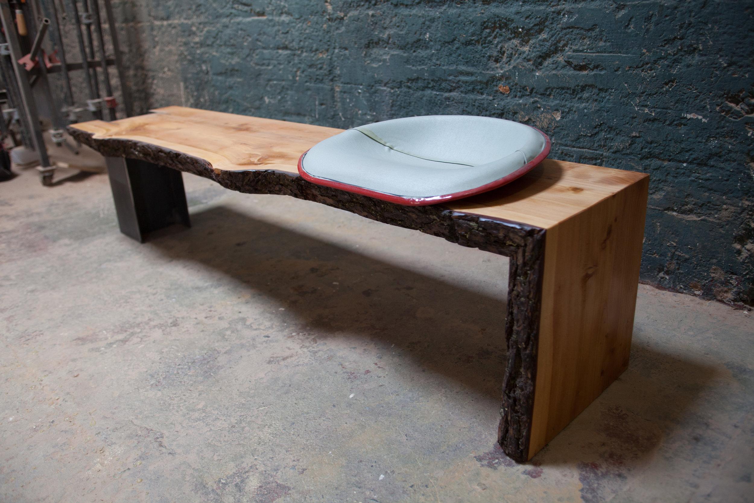 Deodar Cedar Bench