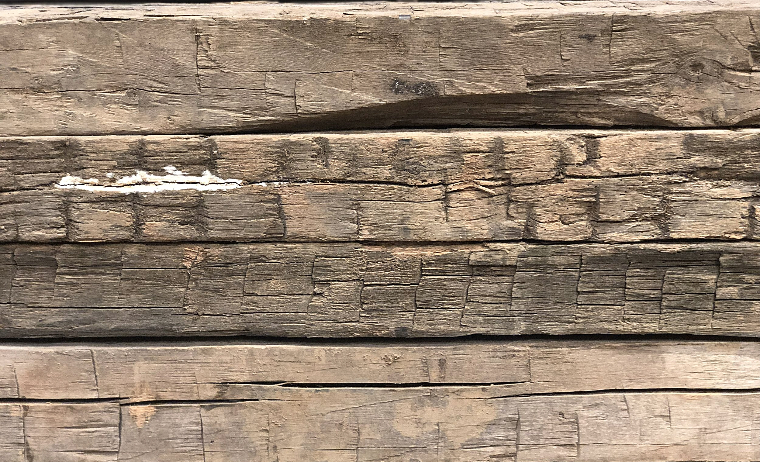 Reclaimed Hand Hewn