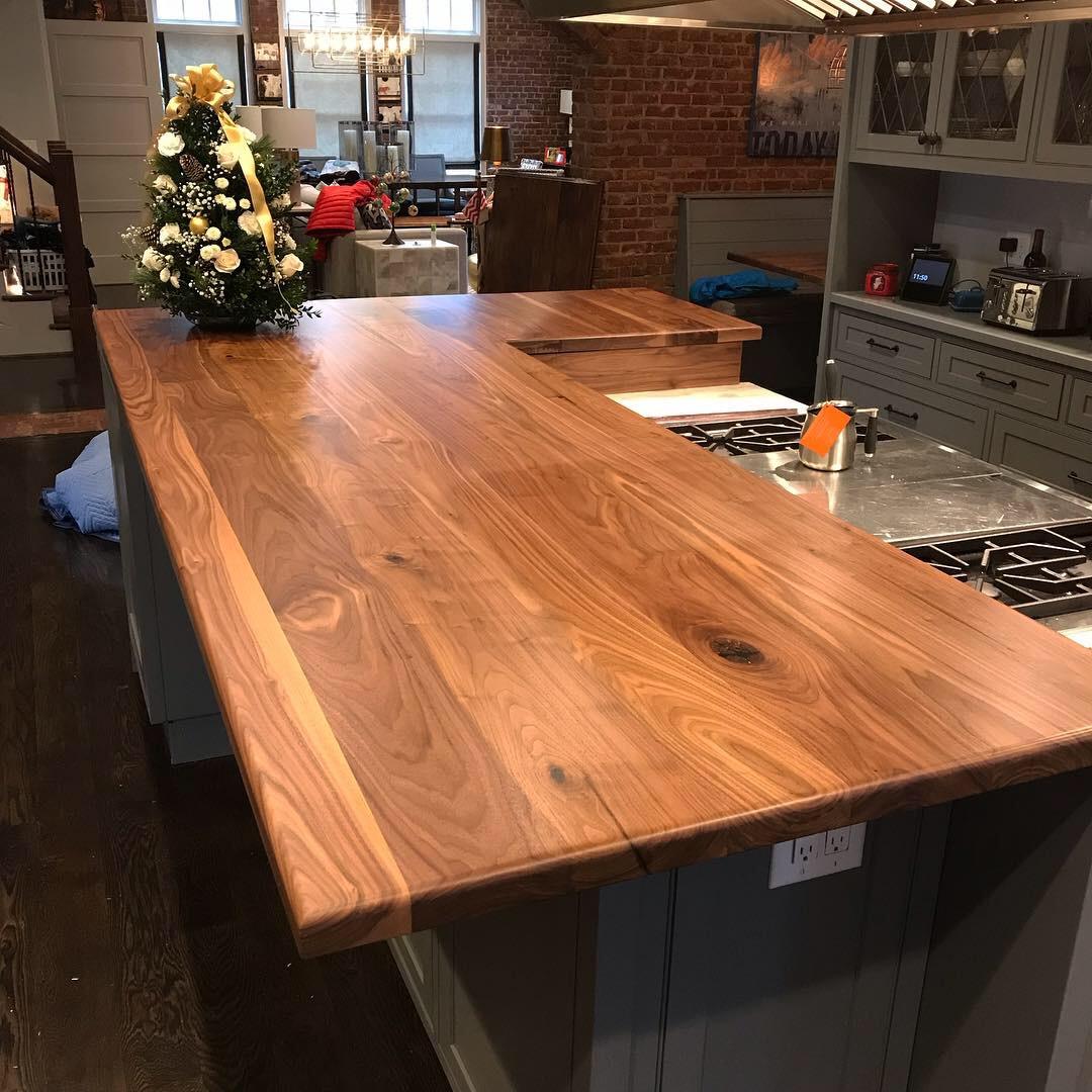 Scurfield Woodworks Walnut Kitchen Counter.JPG