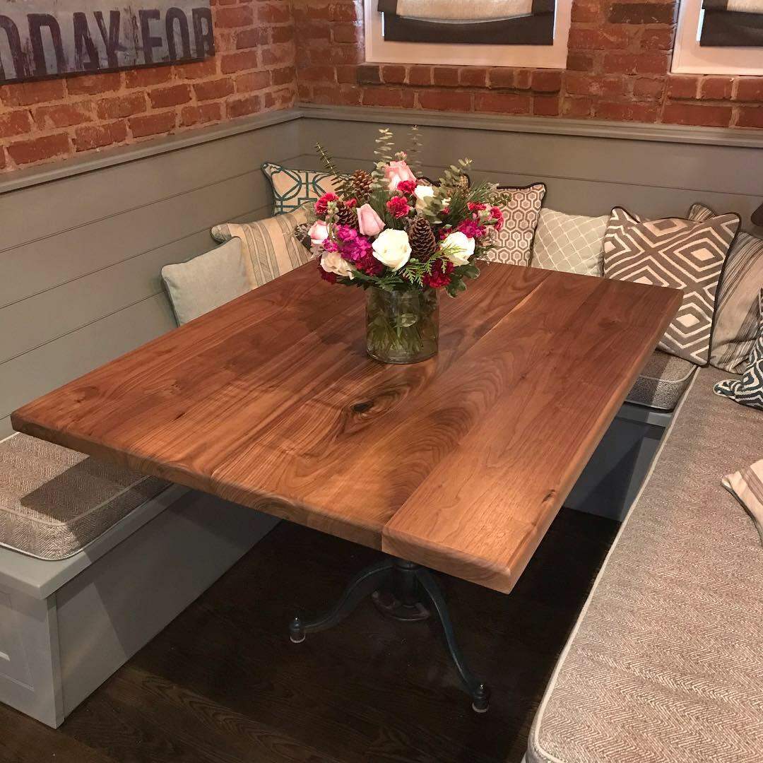 Scurfield Woodworks Walnut Kitchen Table.JPG