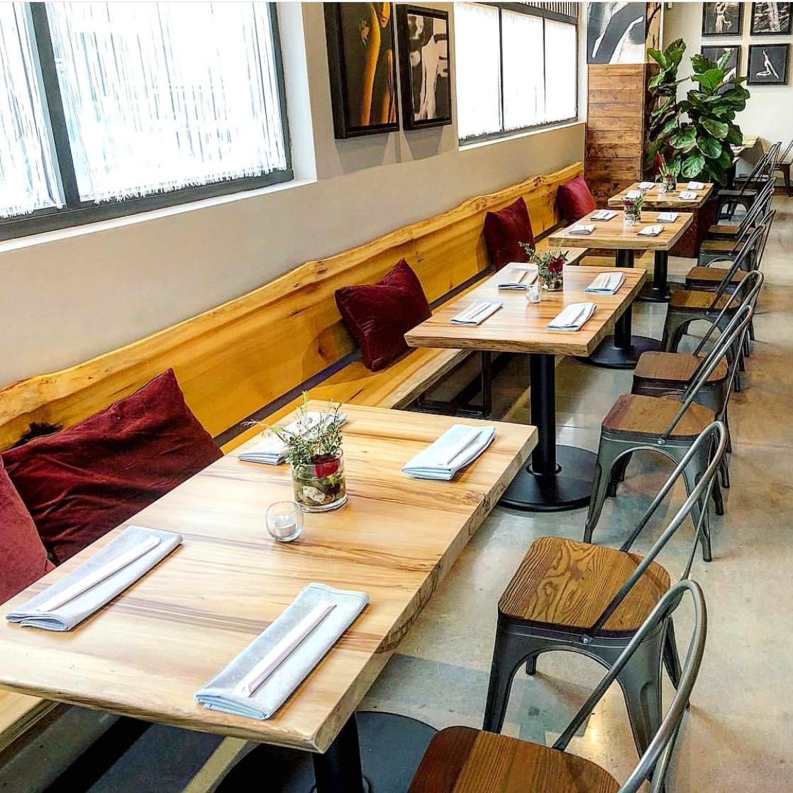 Nam Kitchen Eutree Poplar Live Edge Wood Slabs