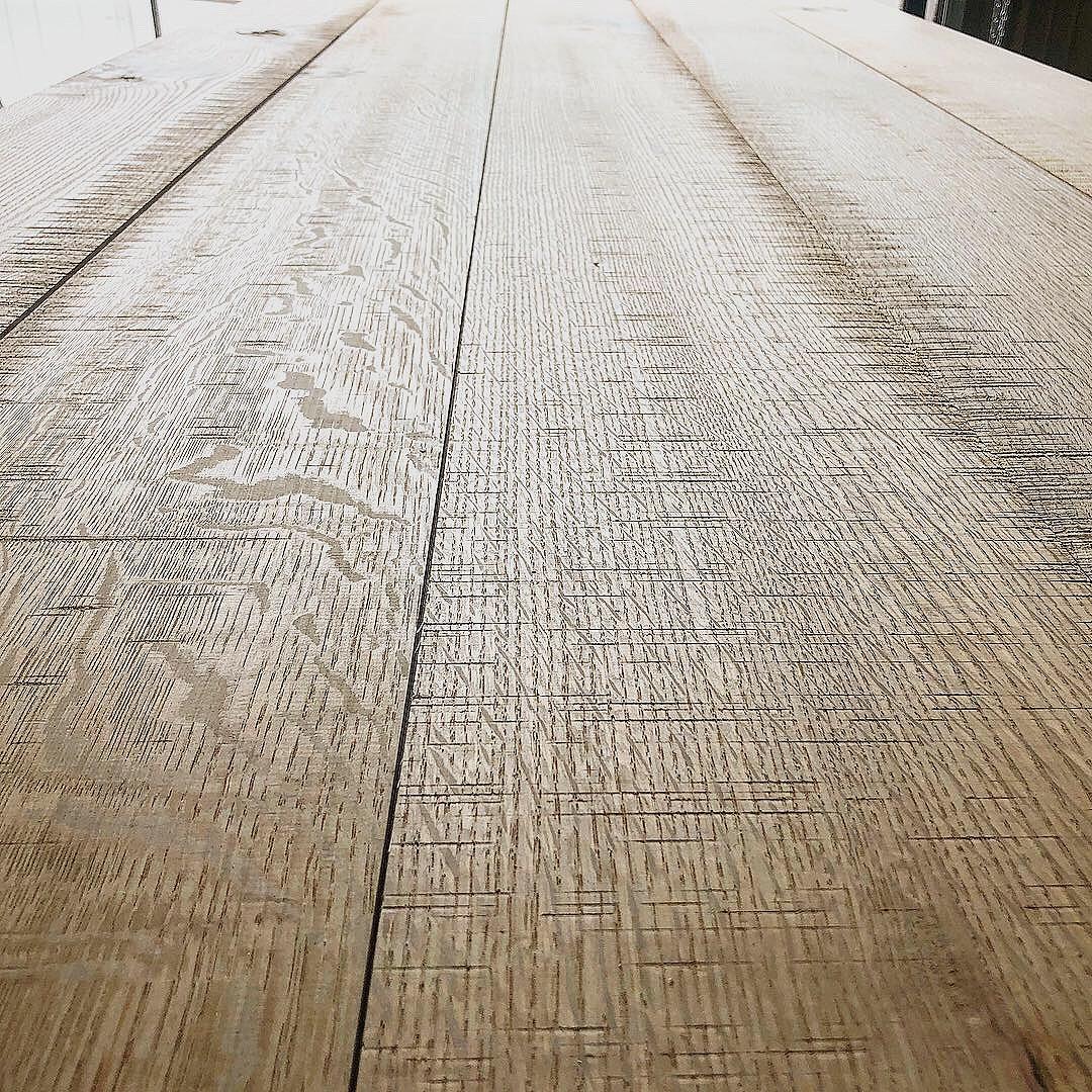 White Oak, Rift and Quarter Sawn, Skip Sawn Texture