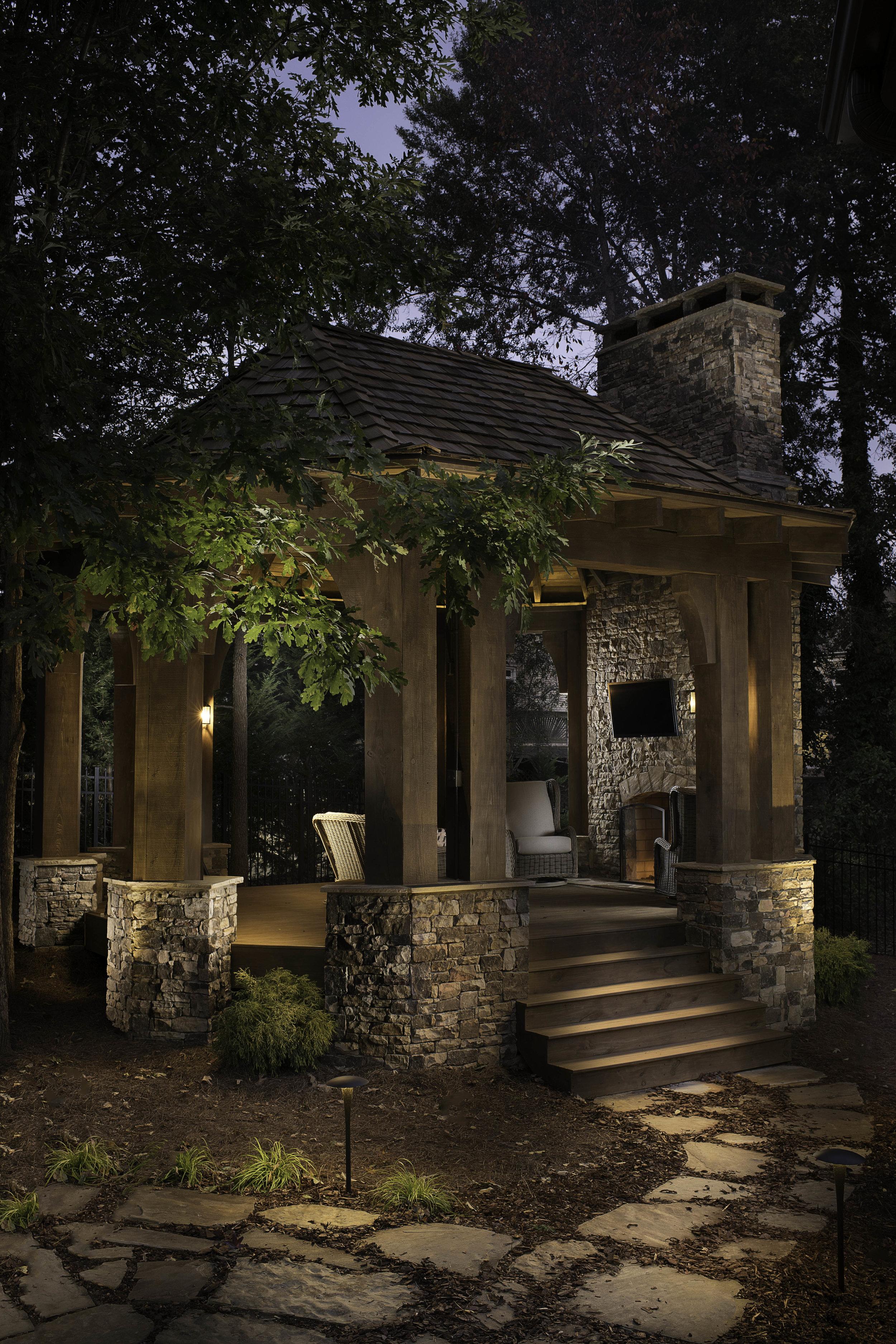 Private Residential Gazebo, Atlanta, GA