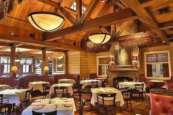 Reclaimed Beams Blue Ridge Grill Dining Room.jpg