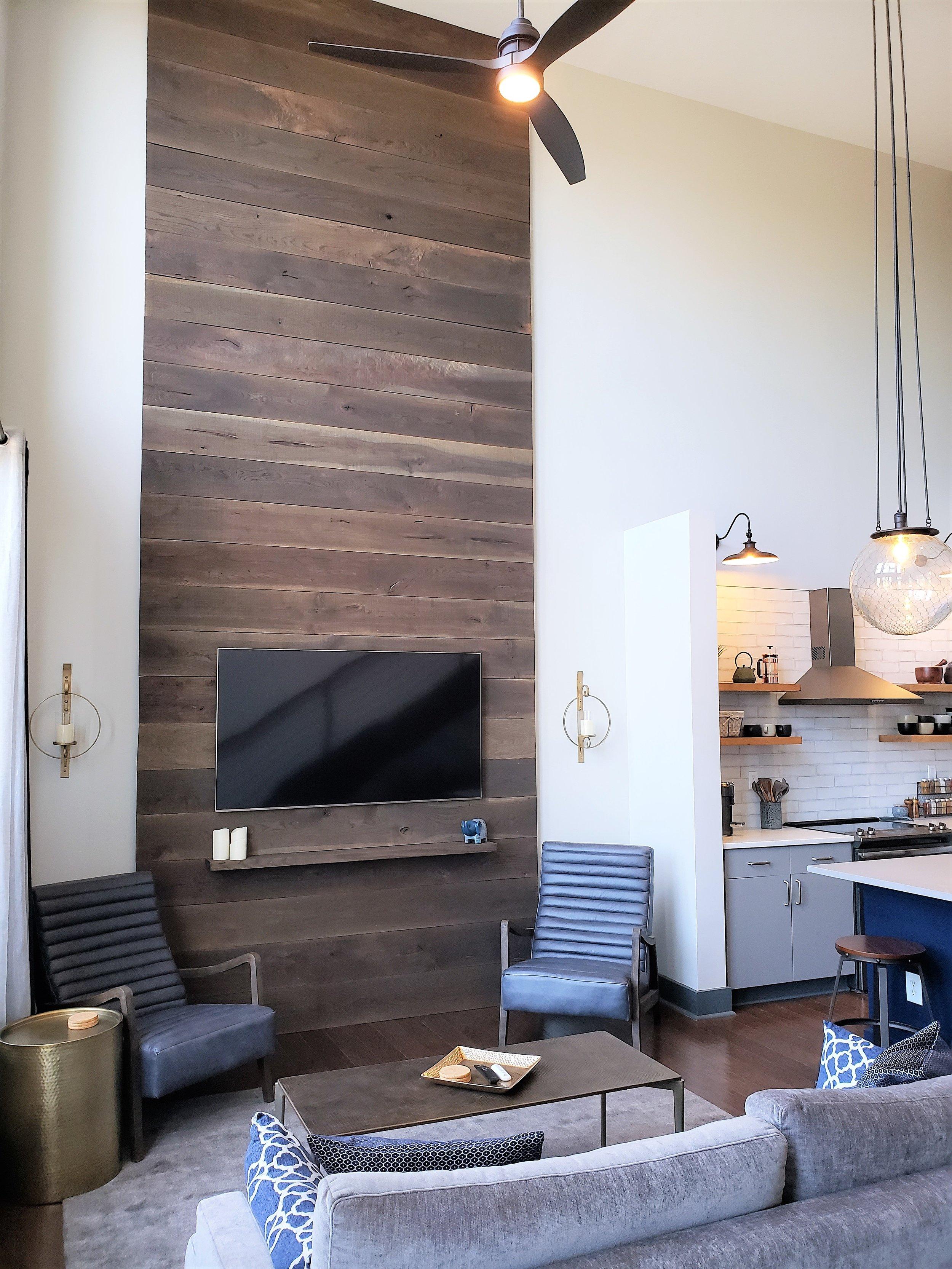Terrain, White Oak Wall Panel