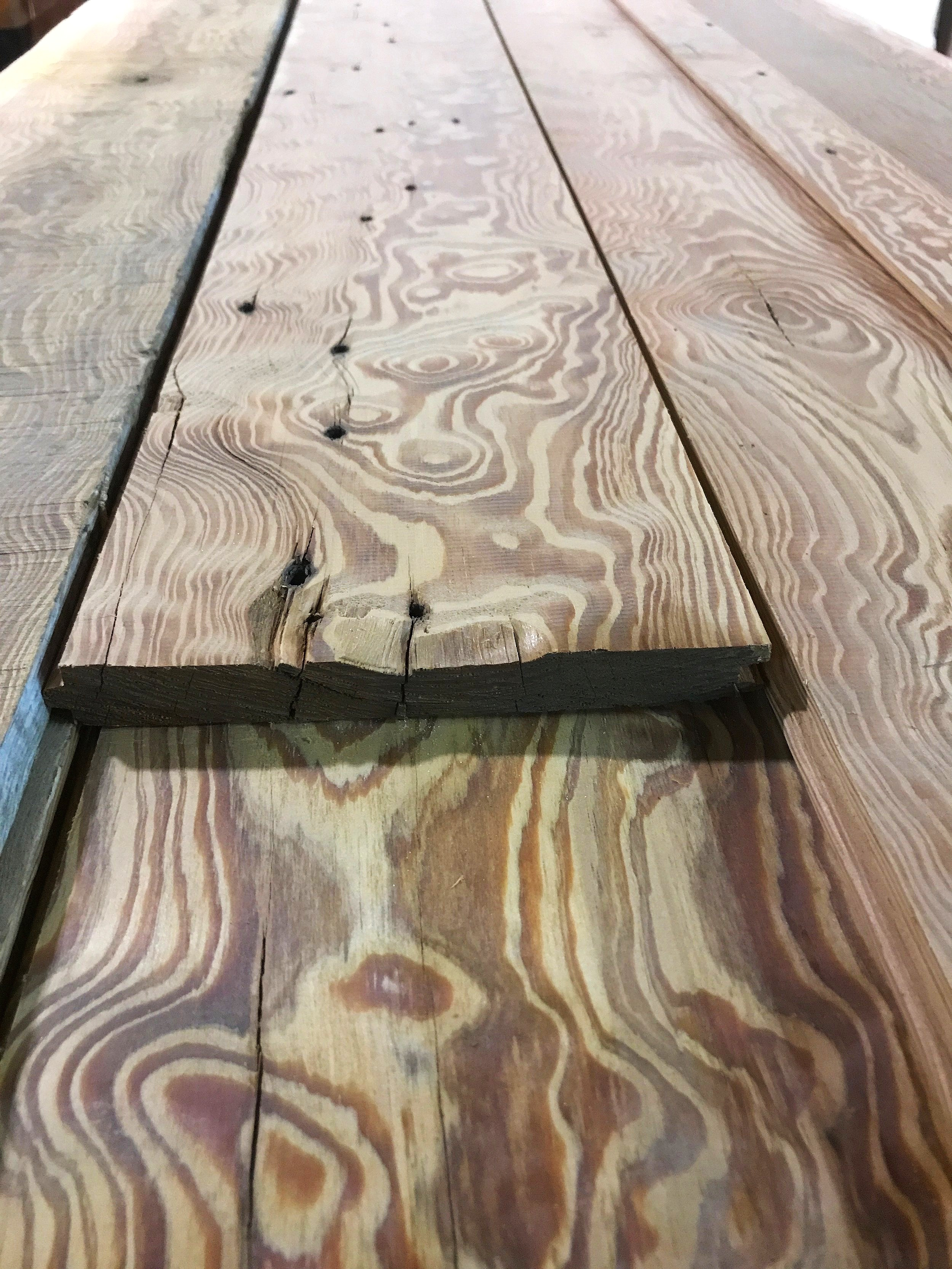 Heart Pine, Curly (limited)