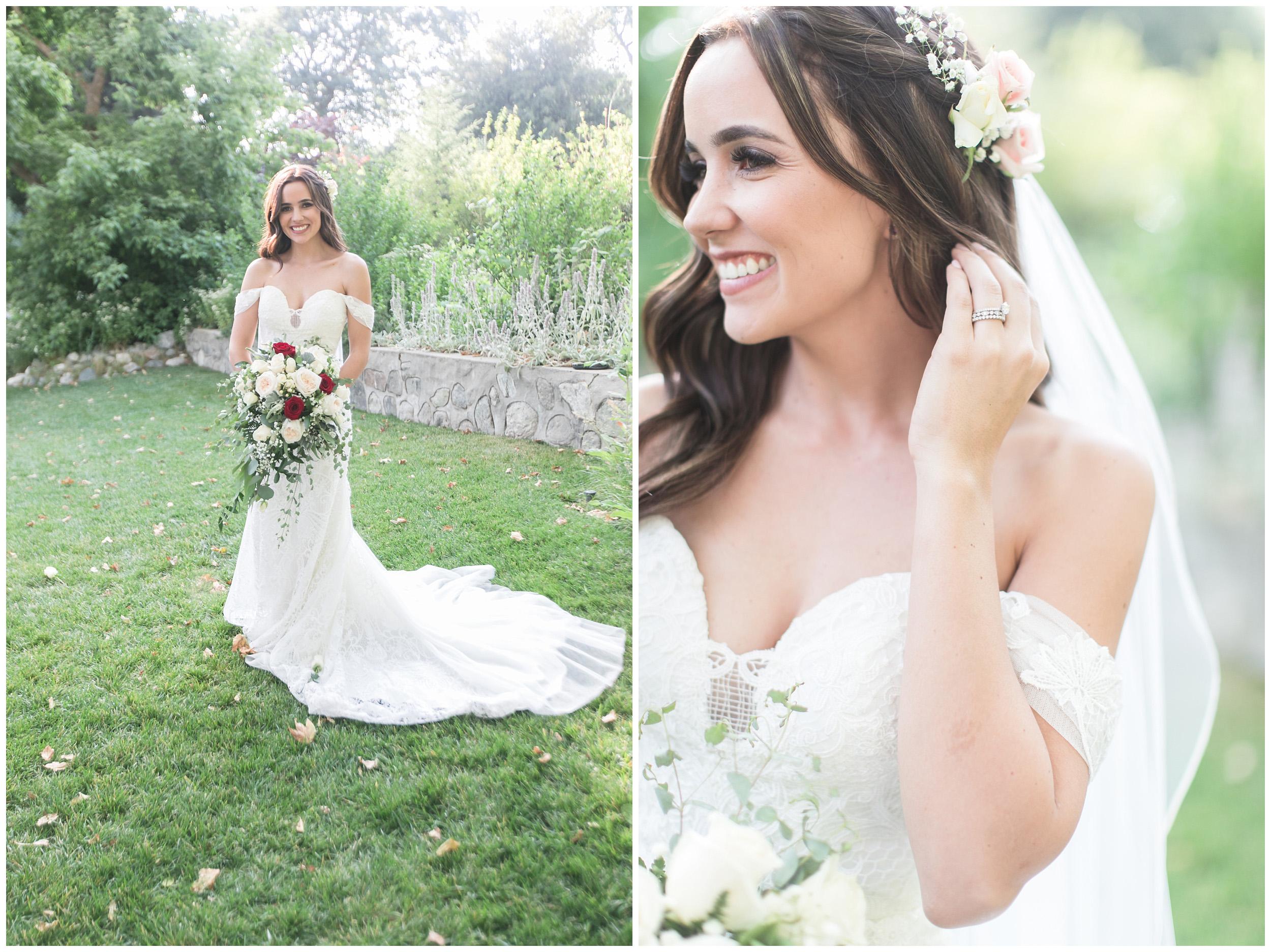 Copy of elegant homestead wilshire ranch wedding bride portrait carrie vines