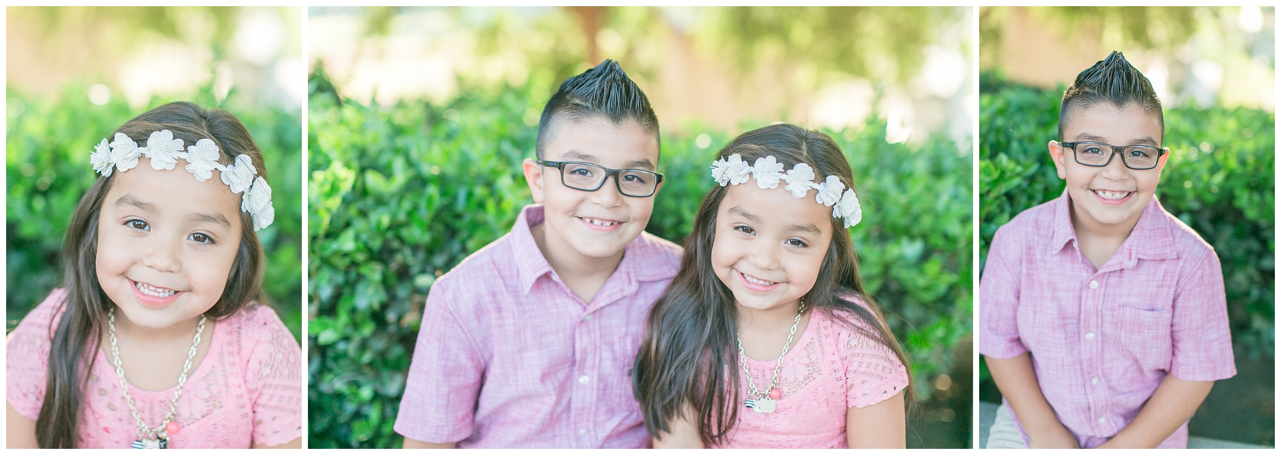 Big brother and sister! They were just babies themselves last time I photographed them!