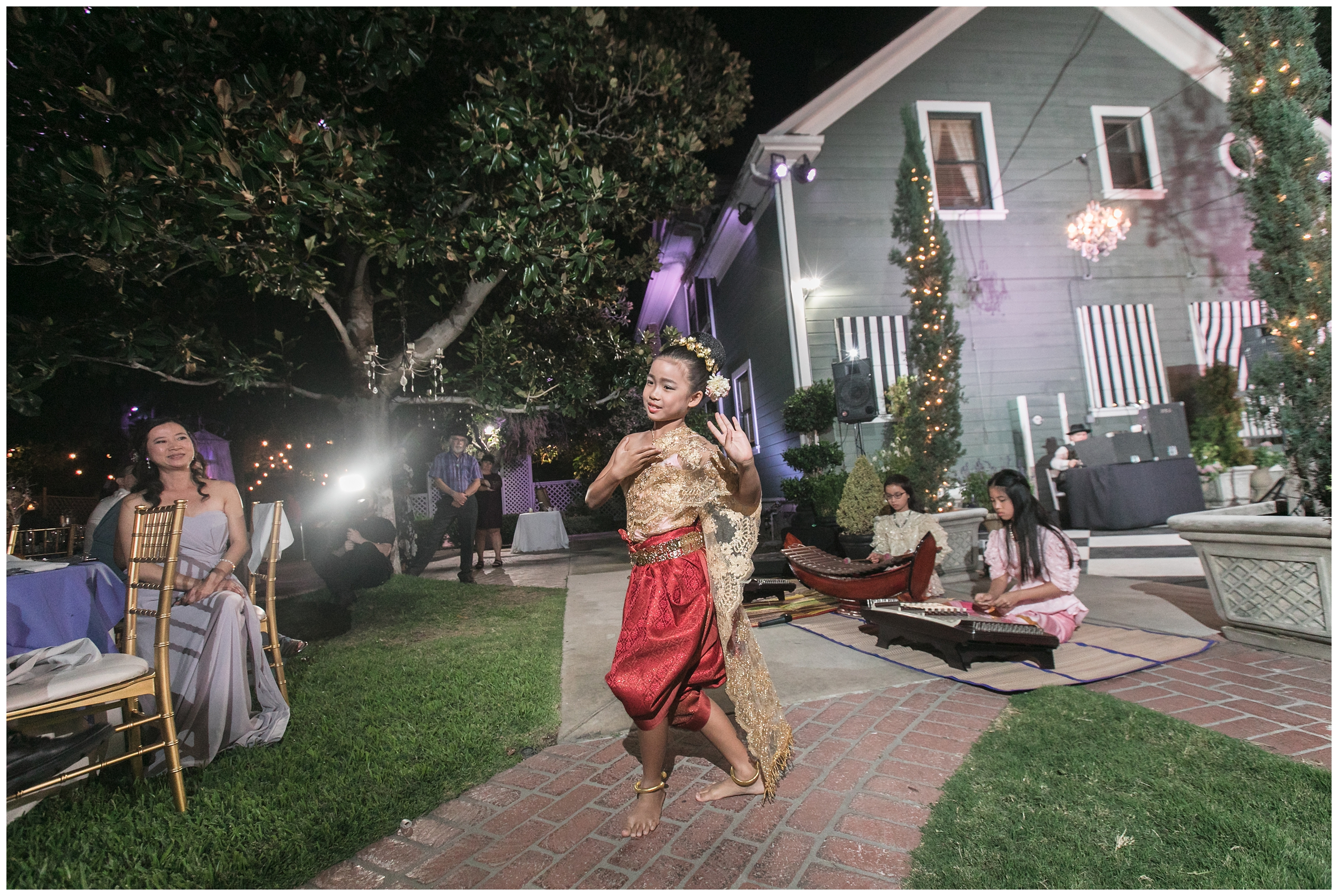 christmas house wedding traditional thai dancer carrie vines