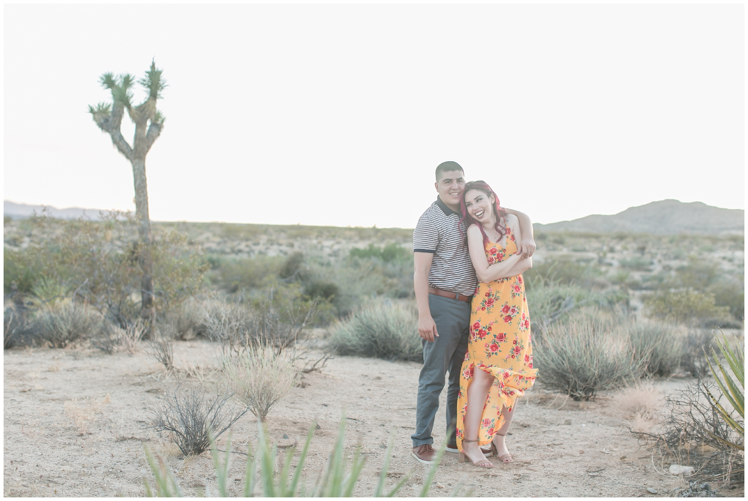 Desert Engagement Session Palm Spring wedding photographer carrie vines