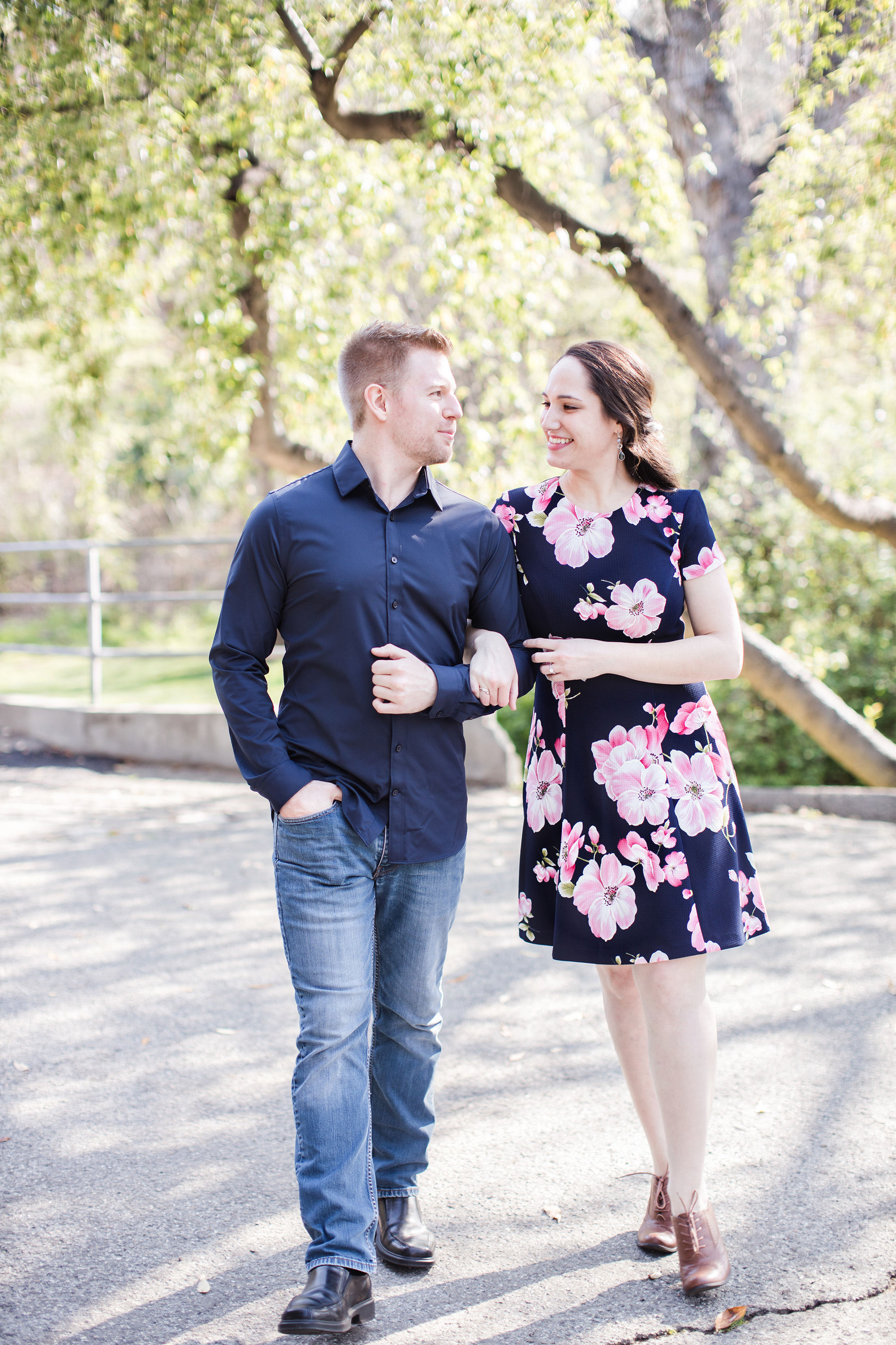 ucr botanic gardens engagement session riverside carrie vines photography