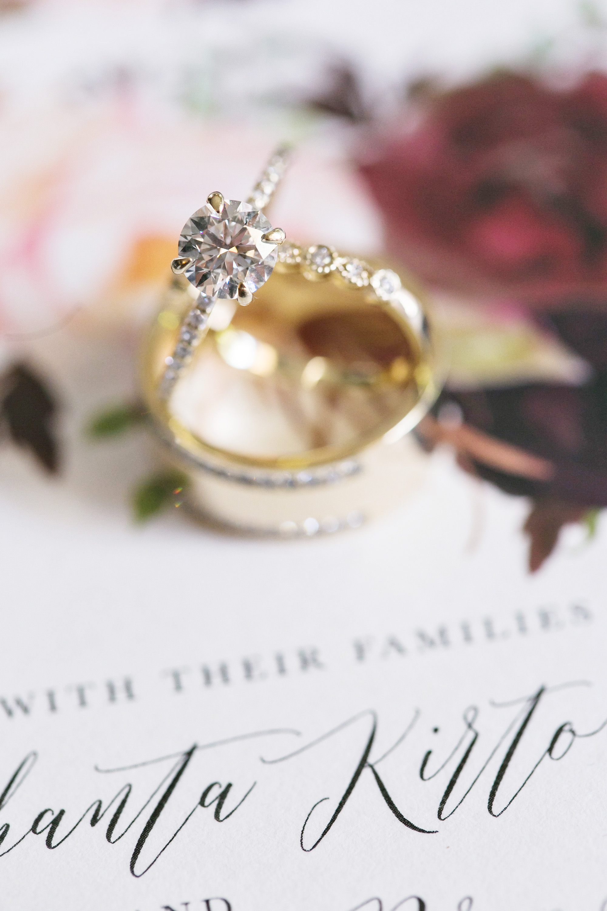 Glamorous Jewel Tone Christmas House Wedding Carrie Vines Photography