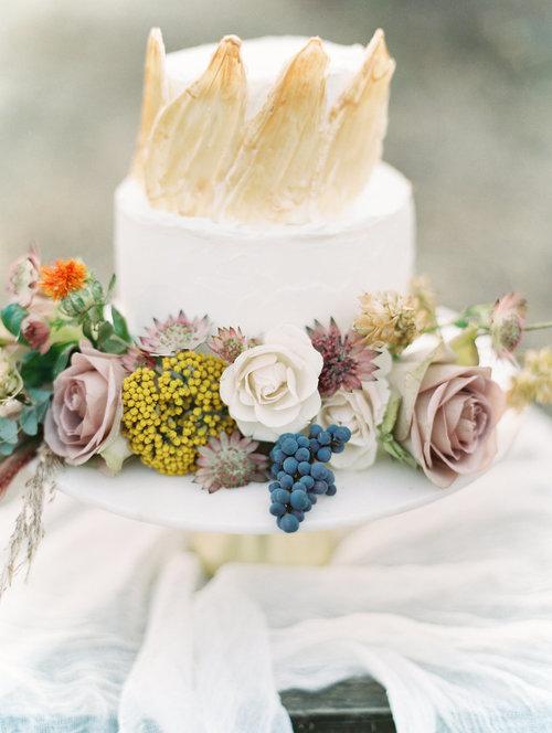 CAKE & COORDINATING-  Jade Magnolia