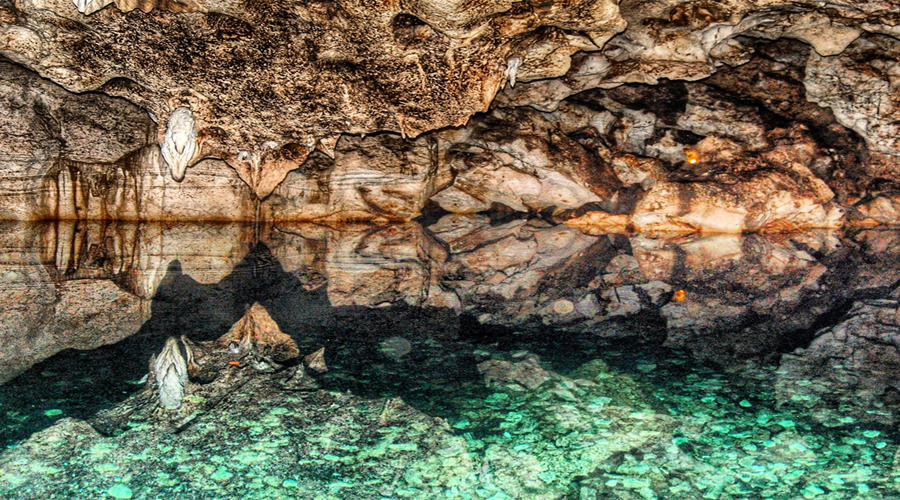 Green Grotto Caves**