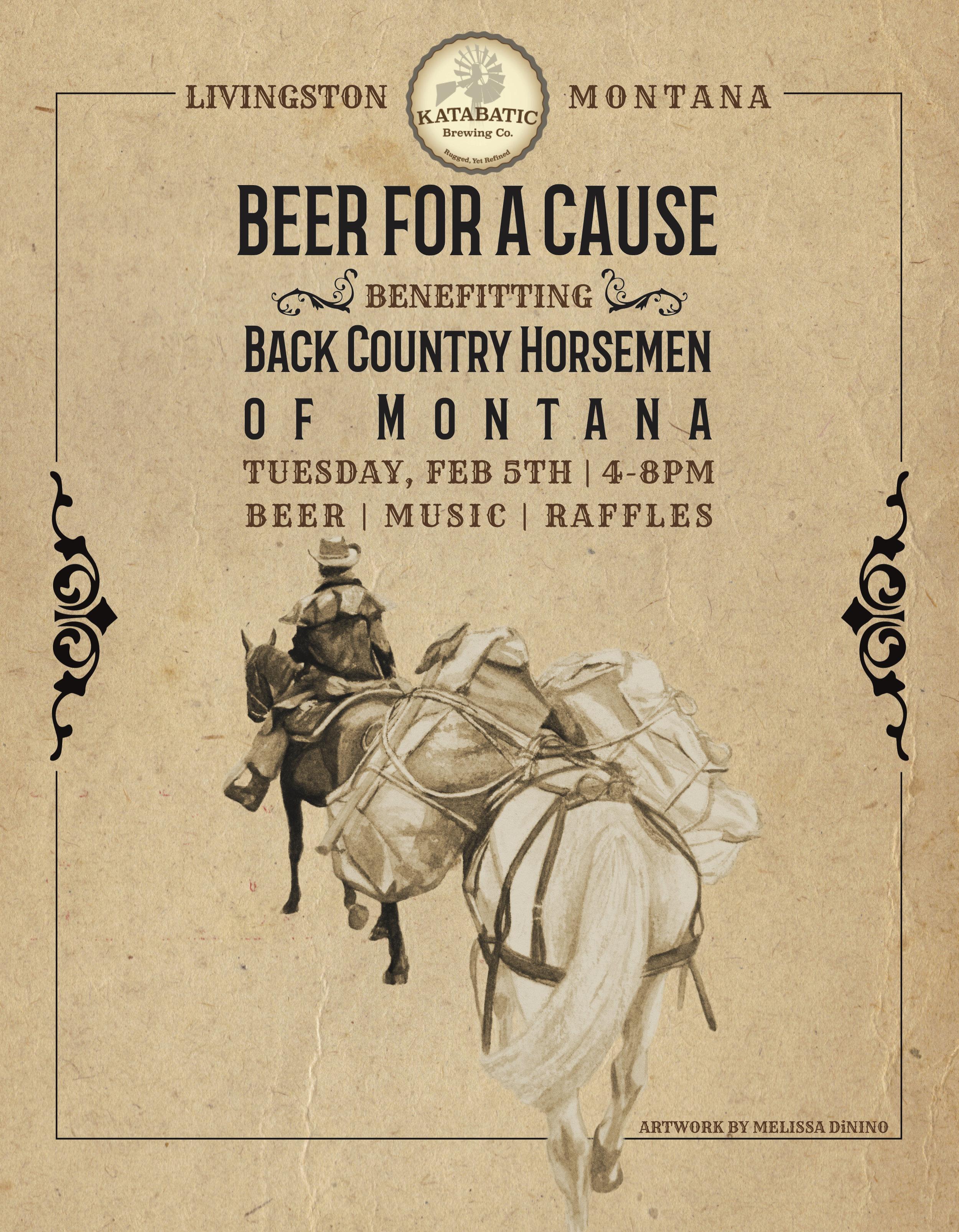 Back Country Horsemen of Montana | Print and Digital Ad