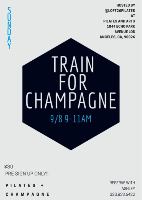 Train For Champagne