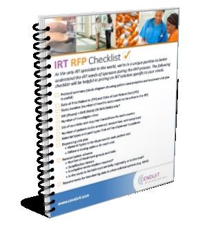 Guide: IRT RFP Checklist