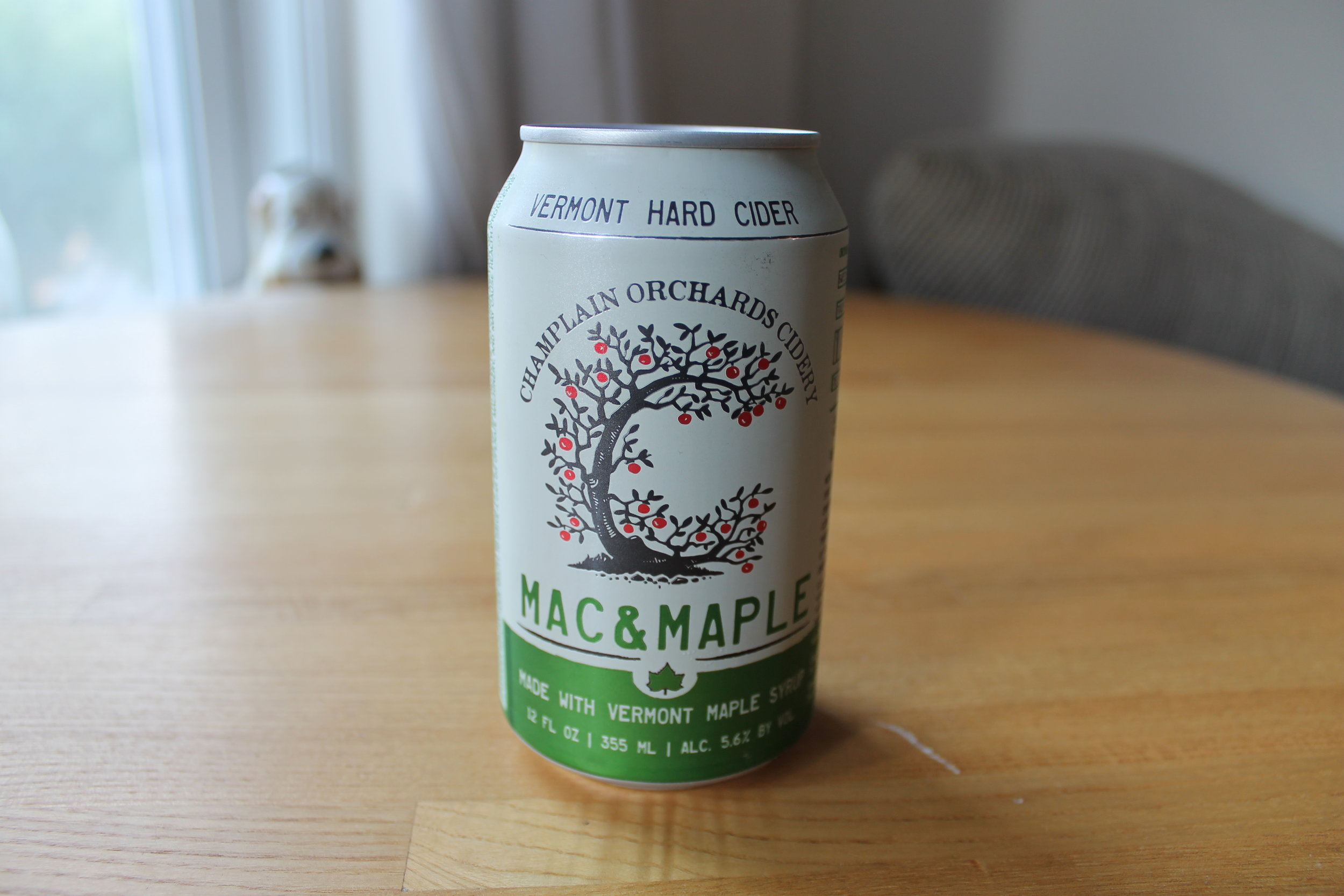 Champlain Orchards Cidery: Mac & Maple