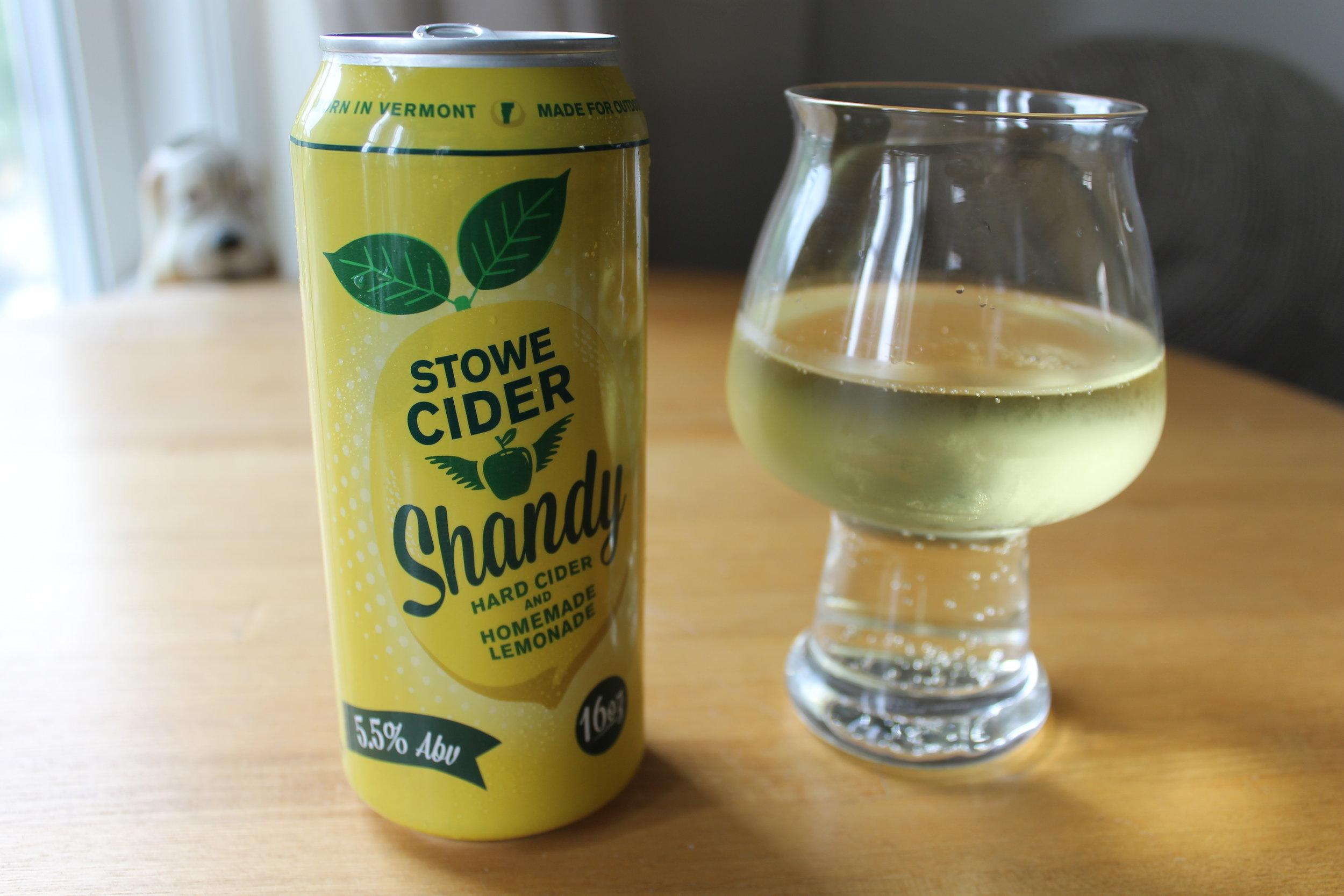 Stowe Cider: Shandy