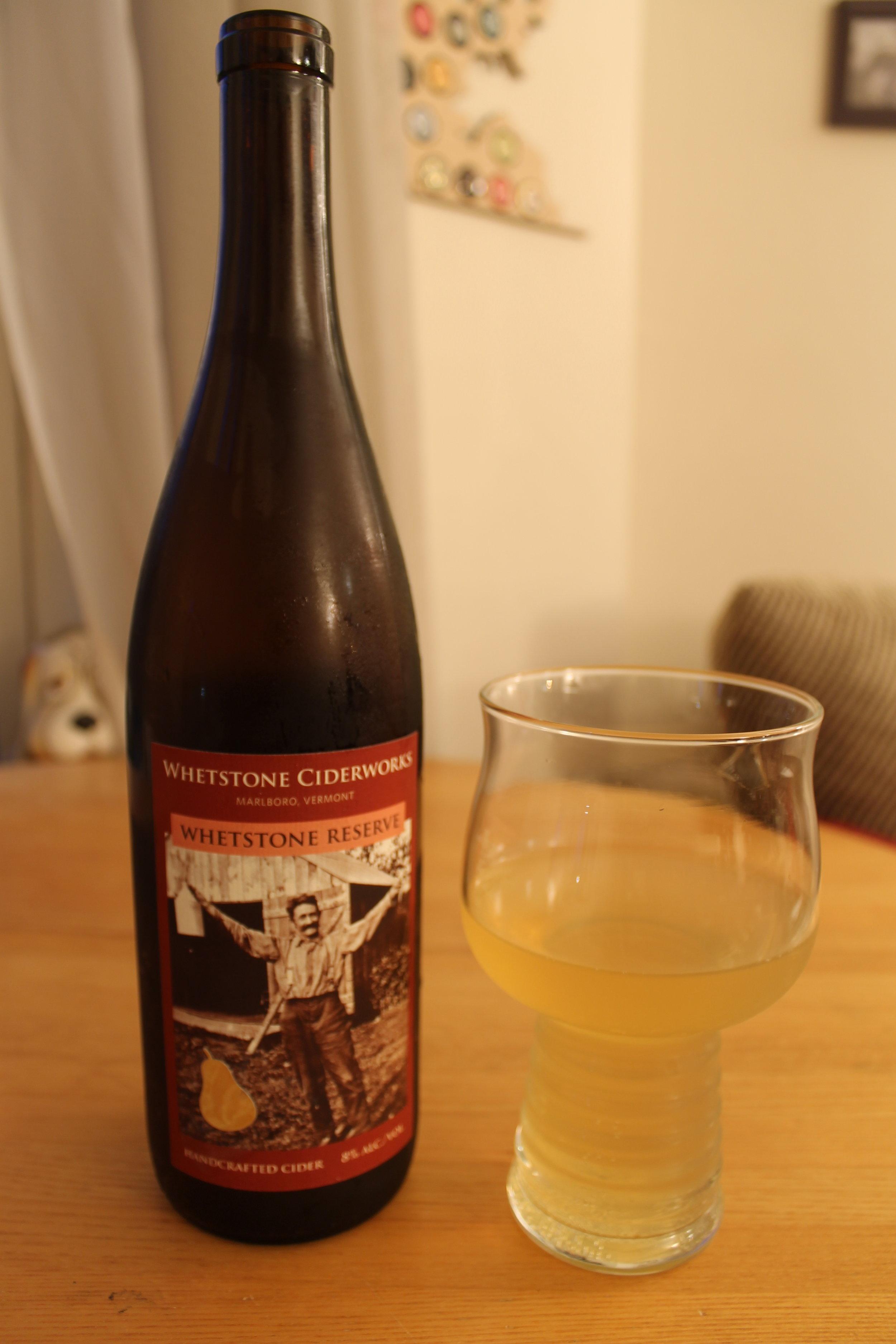 Whetstone Ciderworks: Whetstone Reserve Perry