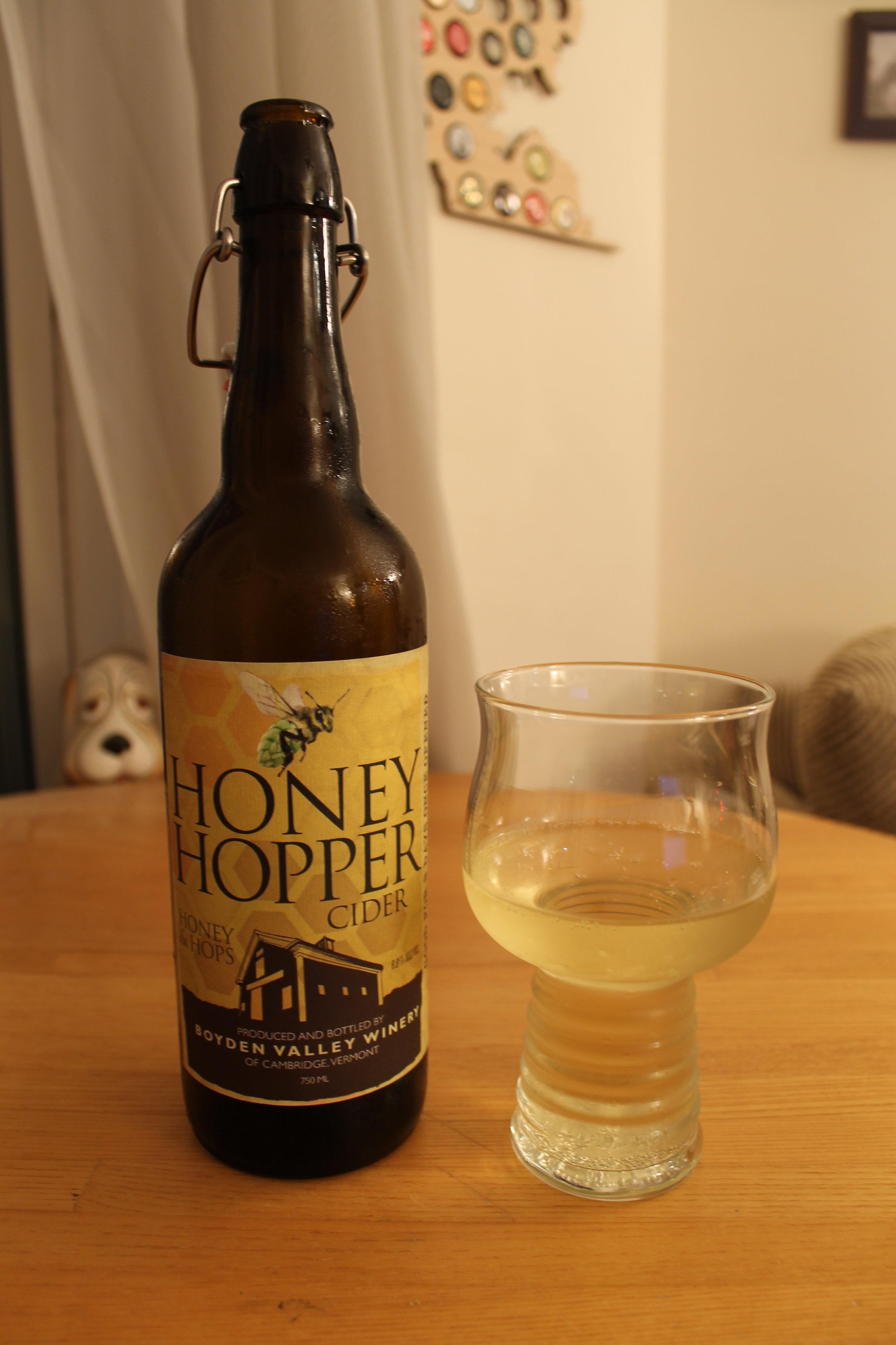 Boyden Valley Winery: Honey Hopper