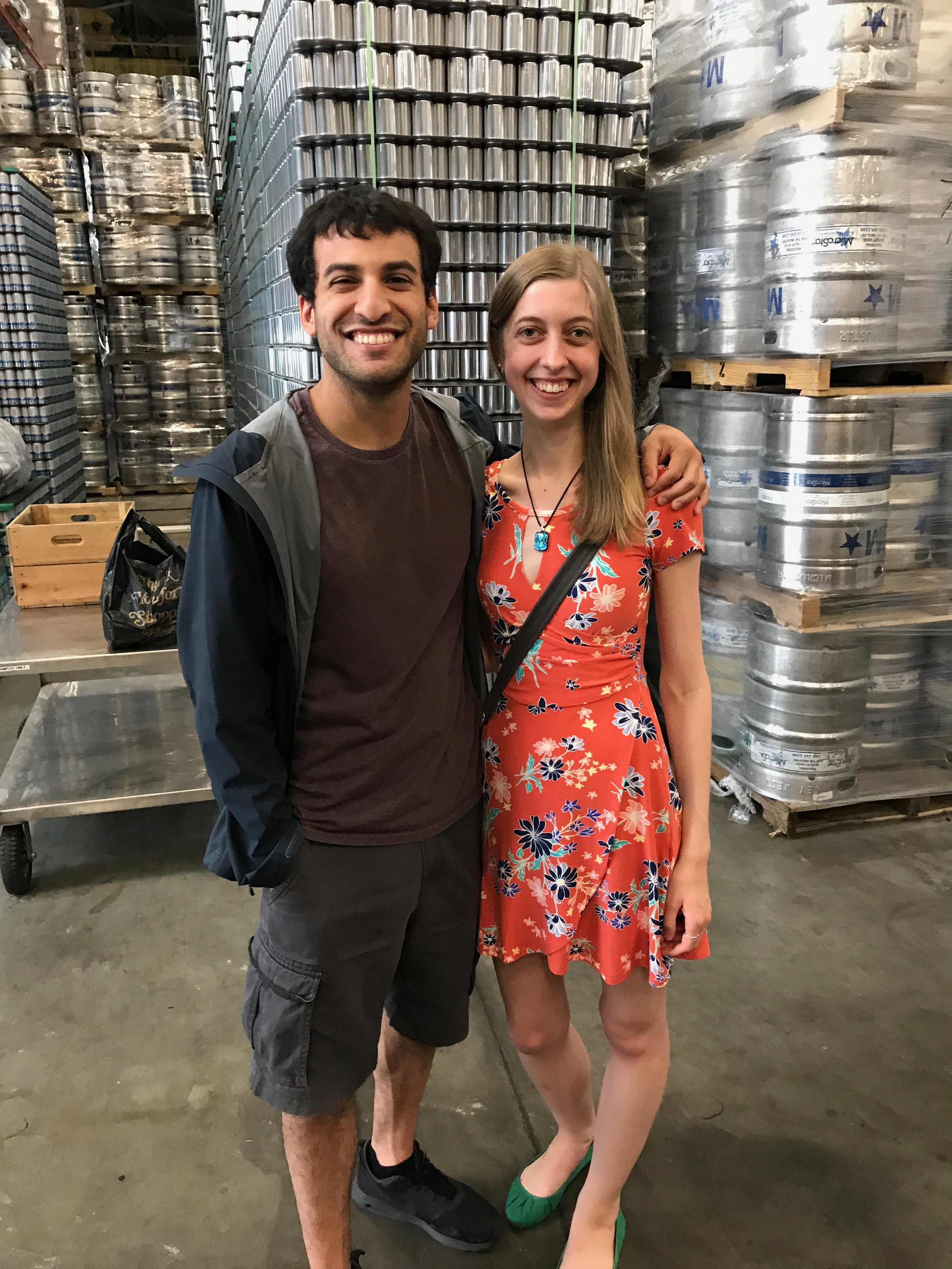 Cider Couple: Ramsay and Julia